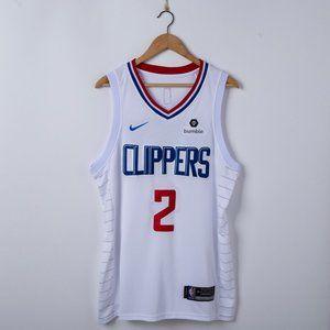 Men's LA Clippers Leonard Nike white Jersey